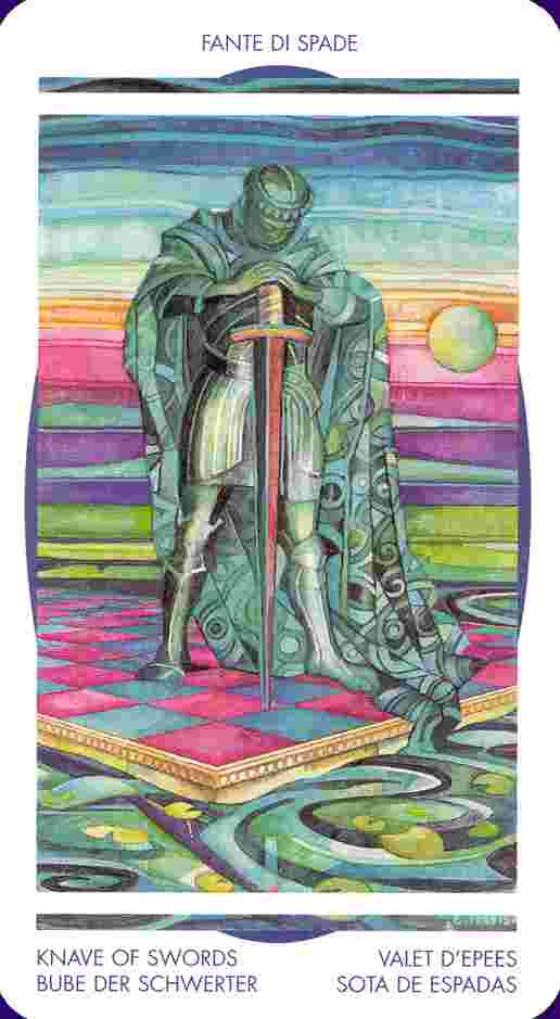 The Page of Swords Tarot Card Meaning - ReadTarot com